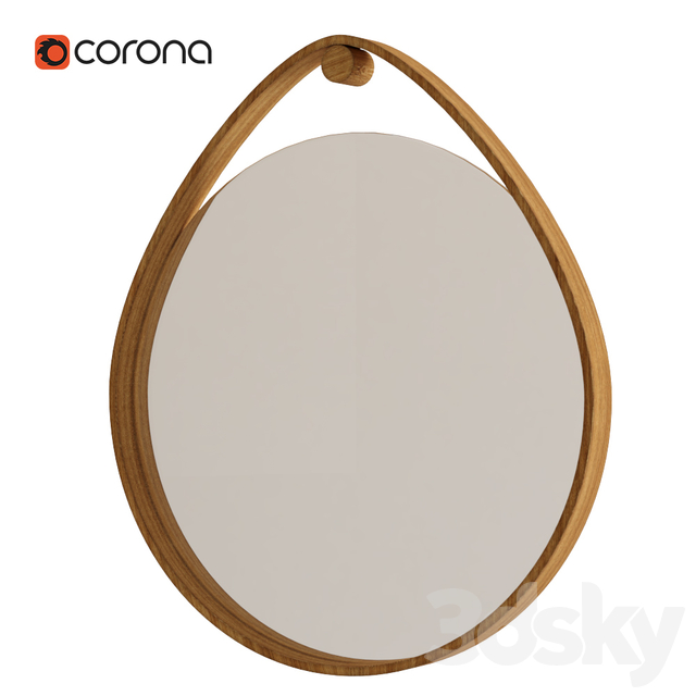 Zara Home Mirror Wood
