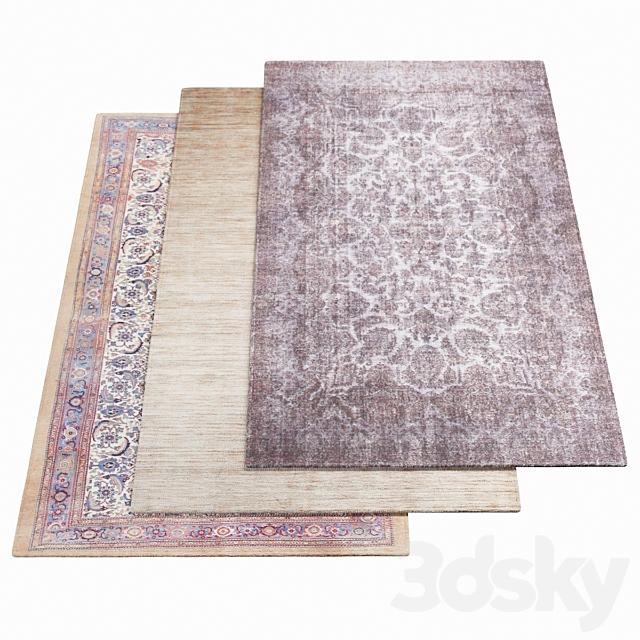 Three AMINI Carpets - 42