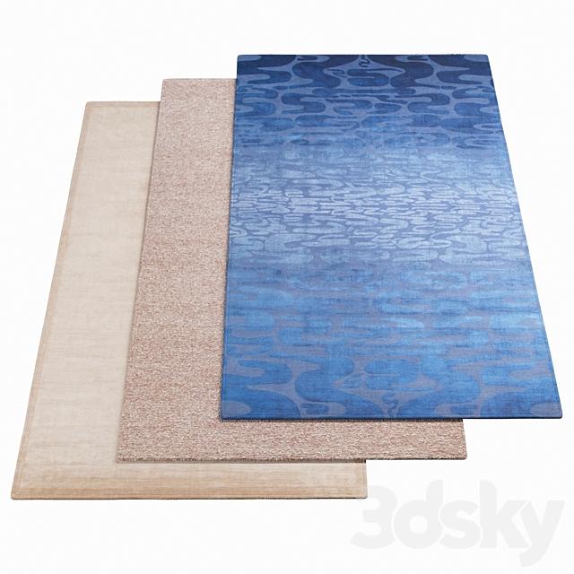 Three AMINI rugs - 44