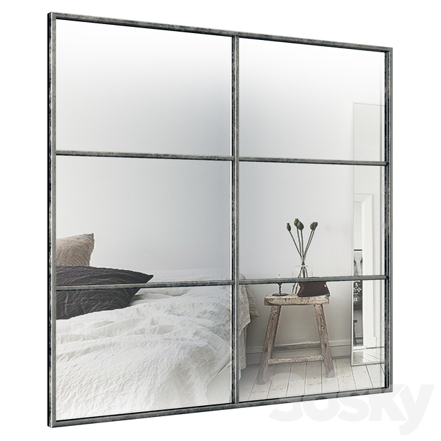 6 Panels Accent Mirror BZV3004