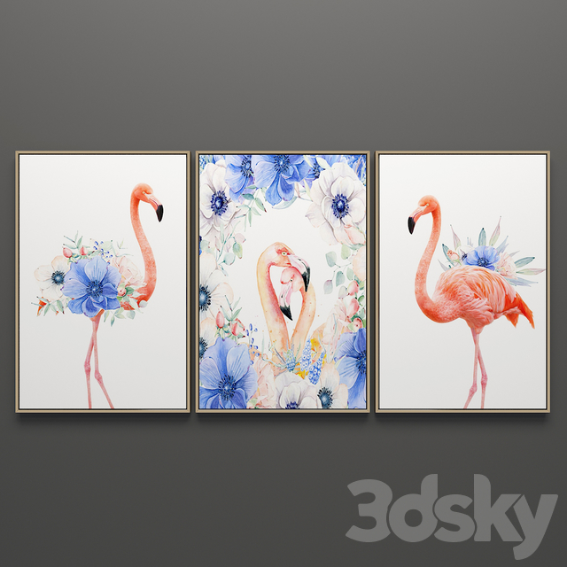 A set of paintings 26