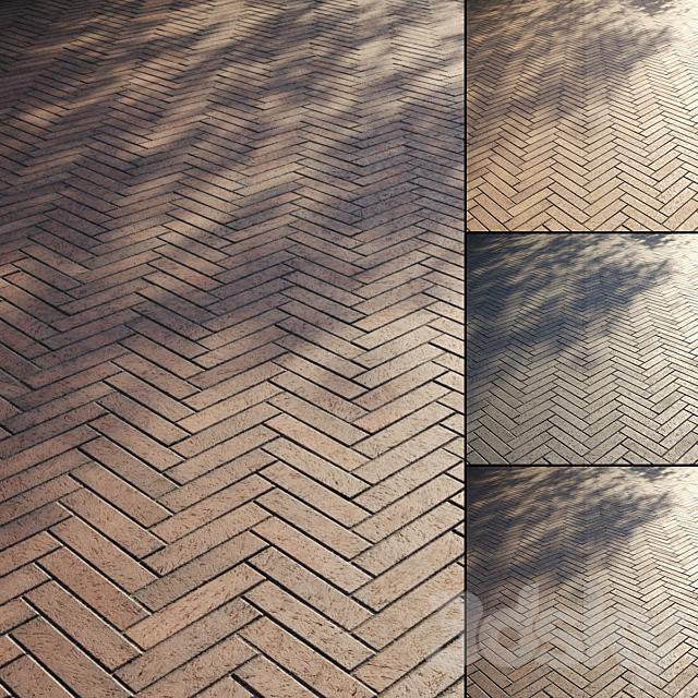 Brick paving slabs Type 4