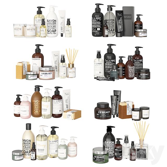 Bathroom Black and White Cosmetics (On Reboot)