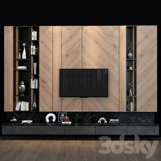 TV shelf 087