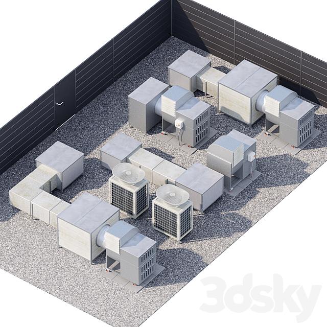 HVAC Roof Techologies / Rooftop Technologies