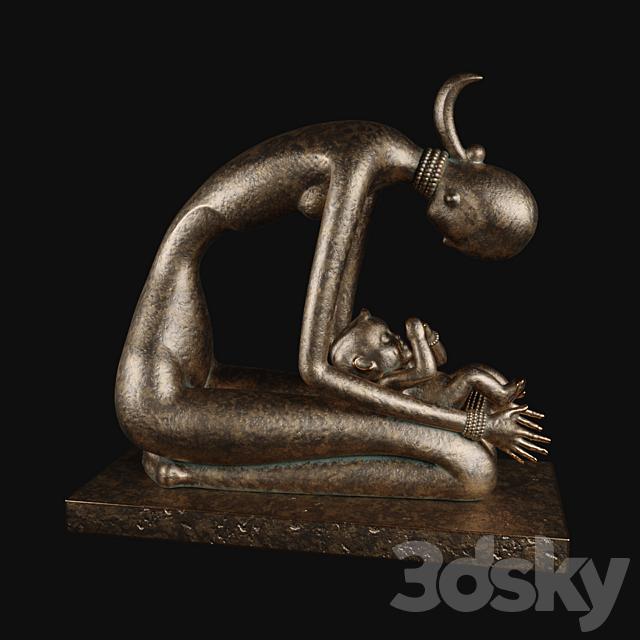 Angel statuette
