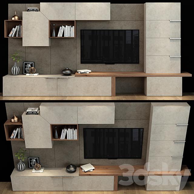 TV shelf 090