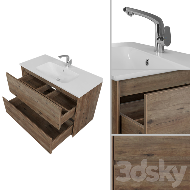 Furniture set Mokka 100 and Cases