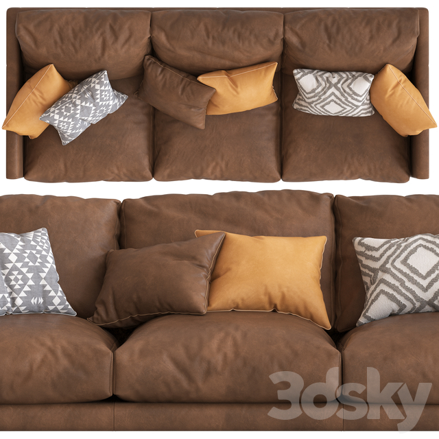 Temple & Webseter Carson 3_Seater Sofa