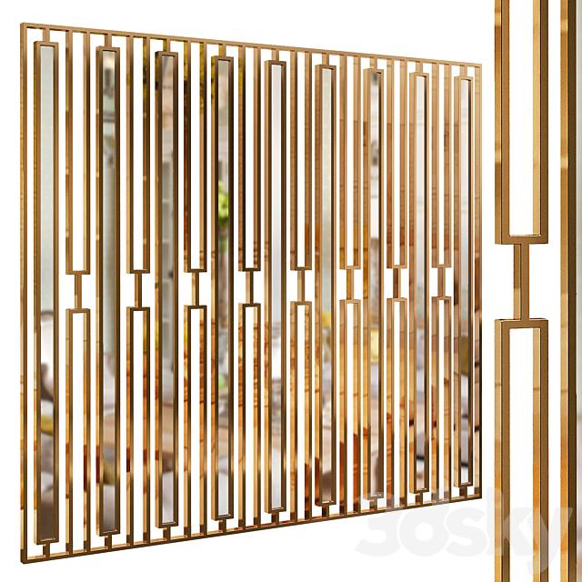 Decorative partition 38