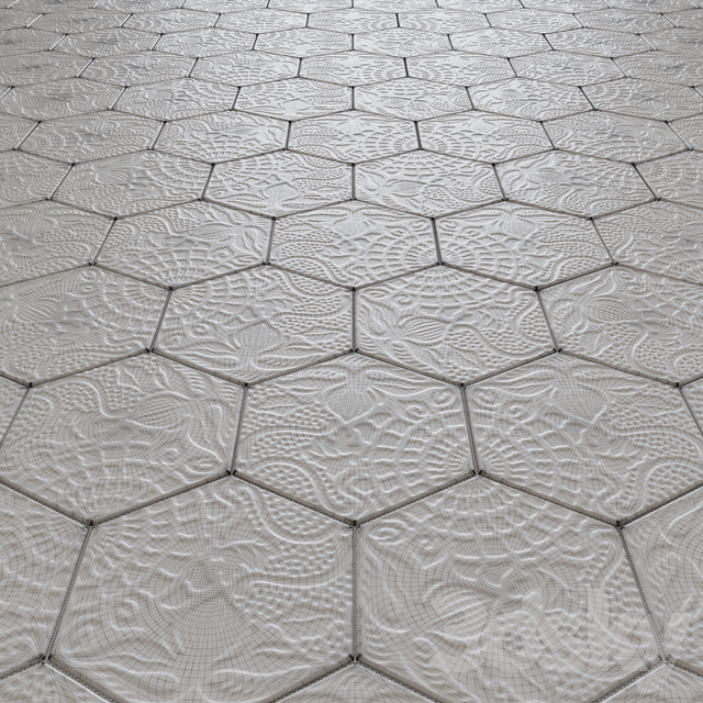 Outdoor floor tile