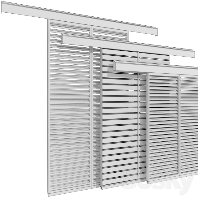 Sliding shutter screens for windows and doors / Sliding Shutter for windows and doors