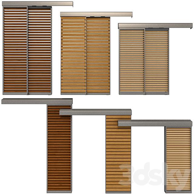 Sliding shutter screens for windows and doors / Sliding Shutter for windows and doors