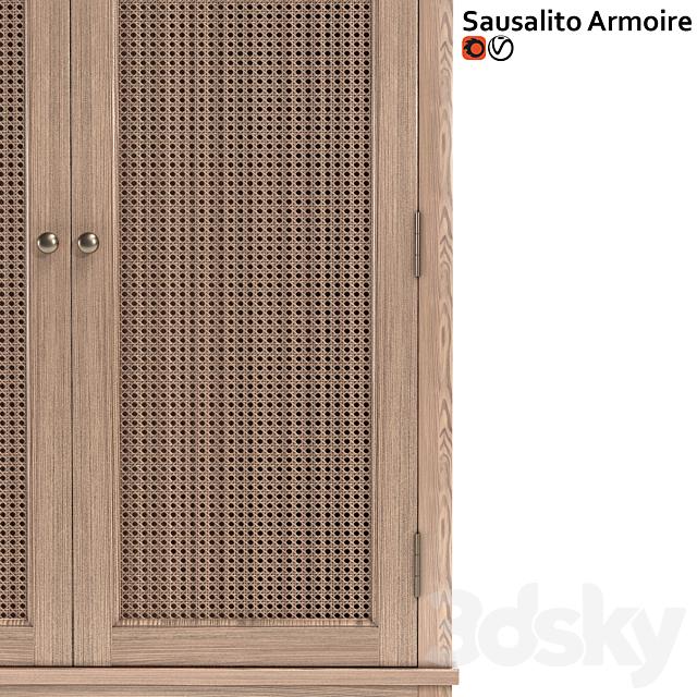 Wardrobe Potterybarn Sausalito Armoire