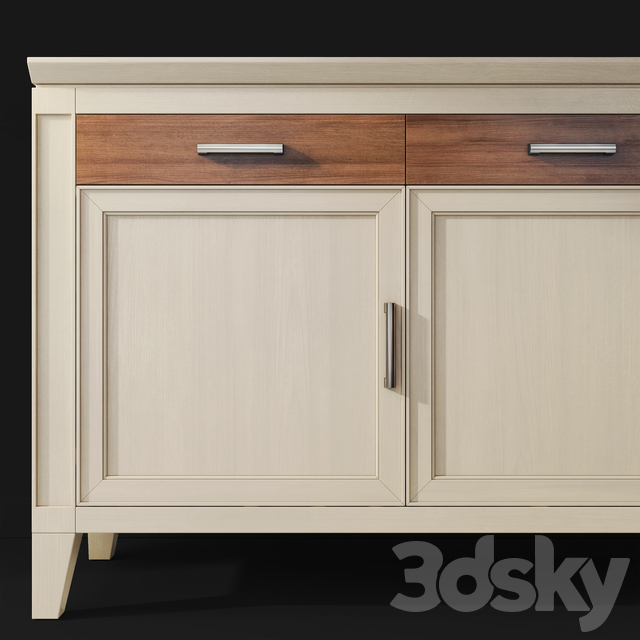 Chest / sideboard Solandra, Aquilegia. Sideboard by Le Fablier
