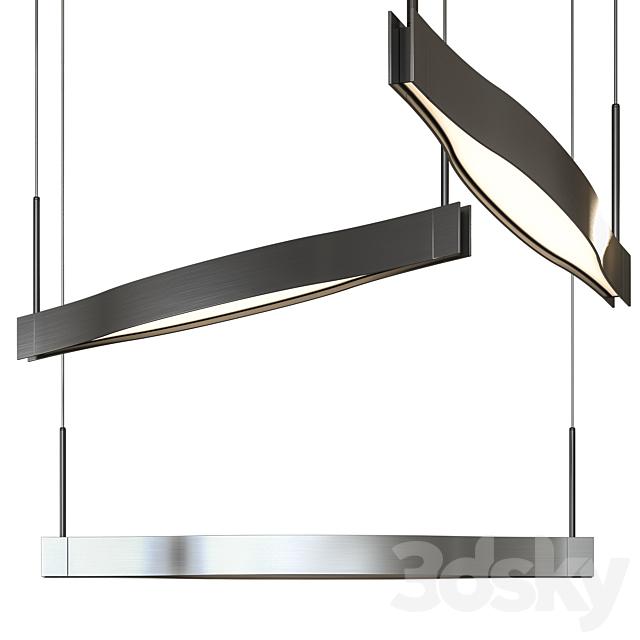 Ola Linear LED Pendant by Sonneman