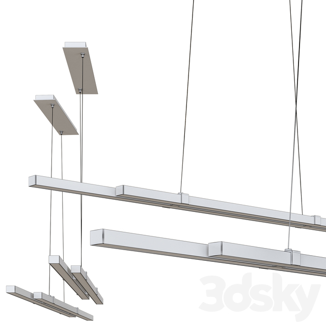 Tymon LED Linear Pendant Light