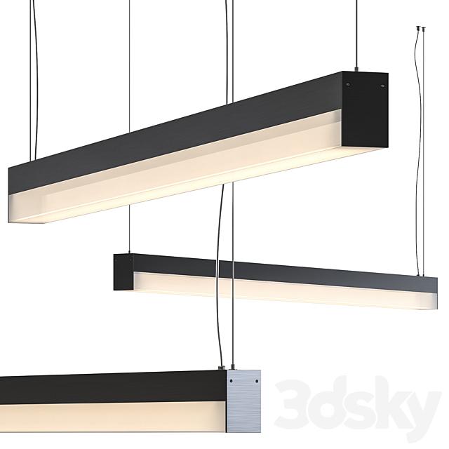 Sword Pendant Lamp by Olev