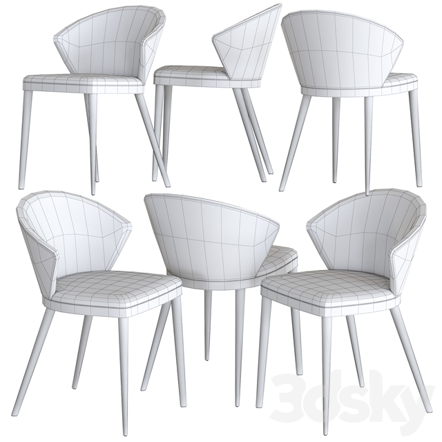 Oliver B. Upholstered Chair Casa Collection