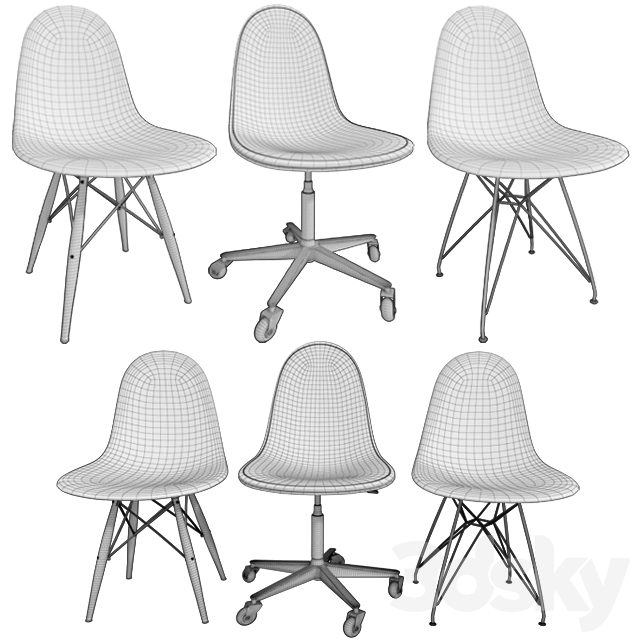 Eames / Chairs Eames Chairs (Part II)