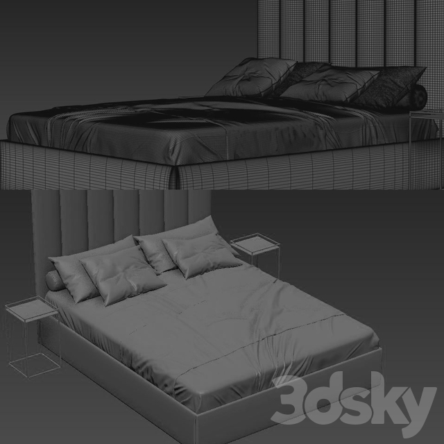 Bed017 by sofa and chair company 15