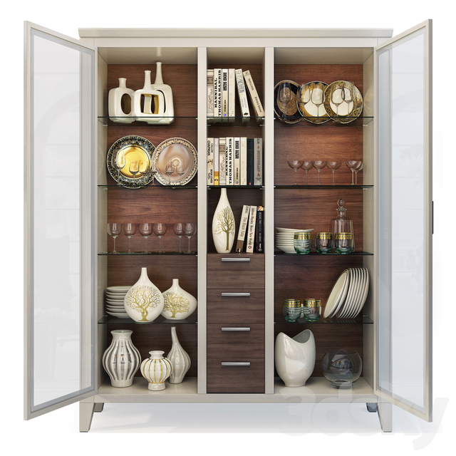 Wardrobe / Display Cabinet Camomilla. Showcase by Le Fablier