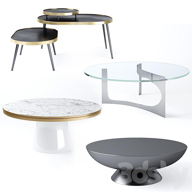 Coffee Tables Set 02