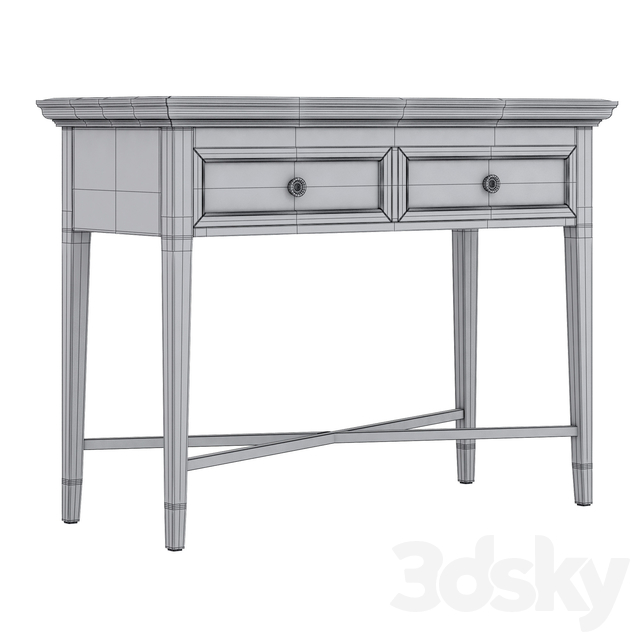 Dantone Home Stafford console with two drawers