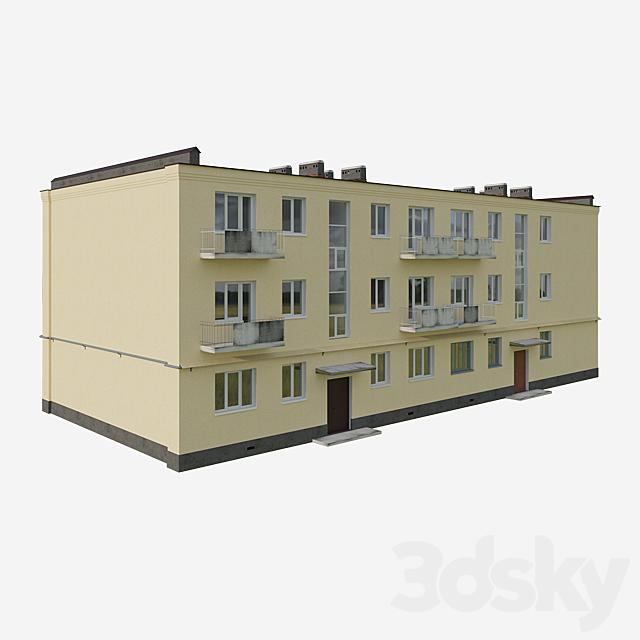 Soviet residential building