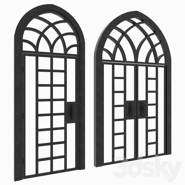 Arch Doors Animated Set