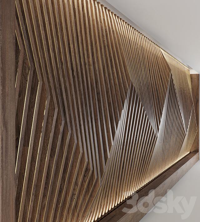 Decorative parametric wall