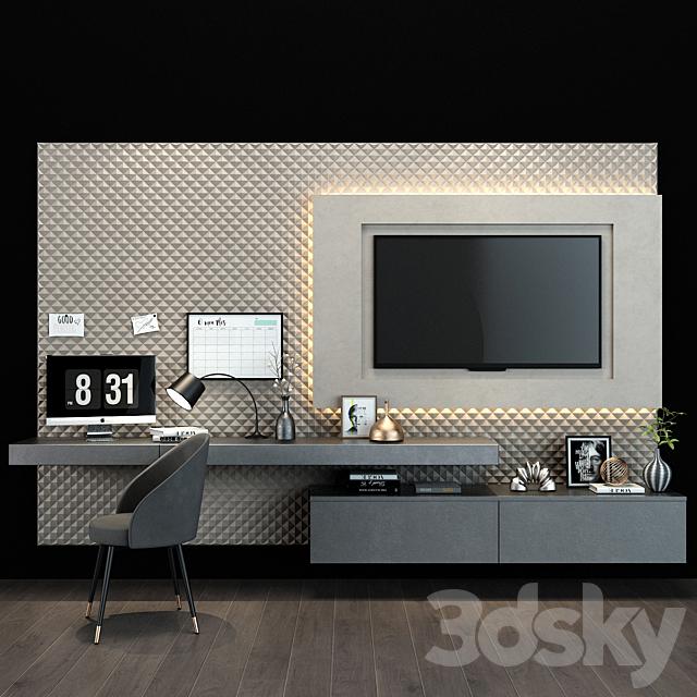 TV shelf 098