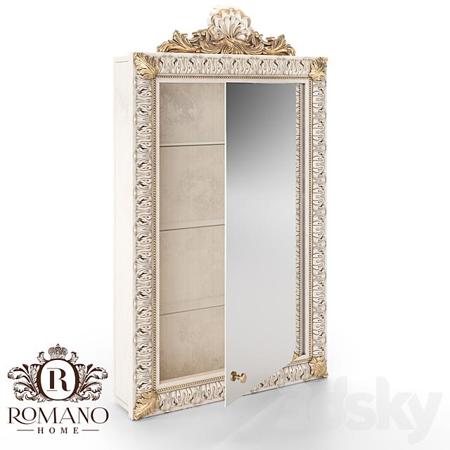 (OM) Mirror / Bookcase / Cabinet Laura Romano Home