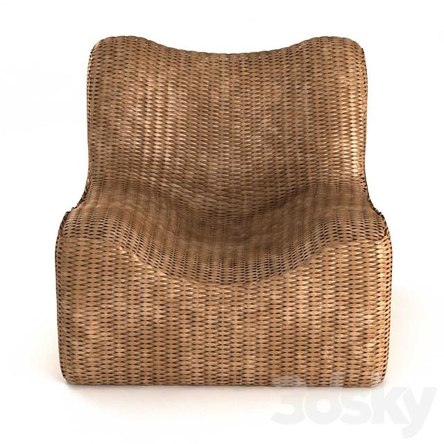 Bazar Bizar WATERHYACINTH Armchair Natural fiber armchair