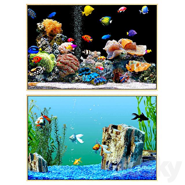 Aquarium picture set | No. 060