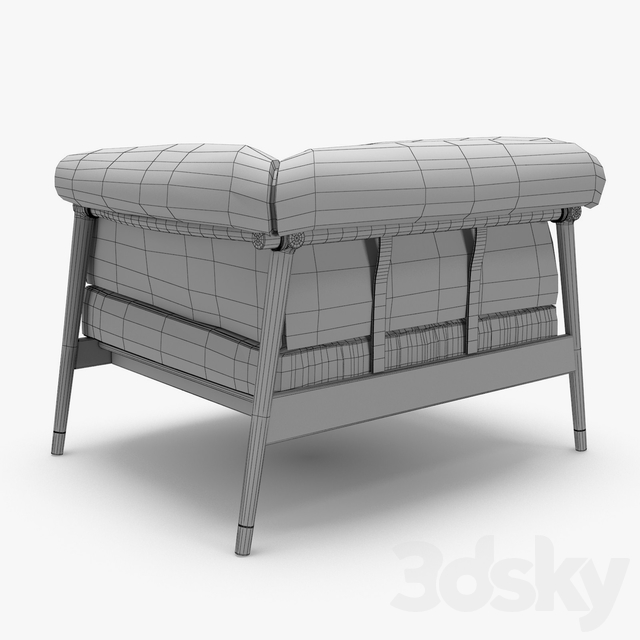 Giorgetti - Derby armchair