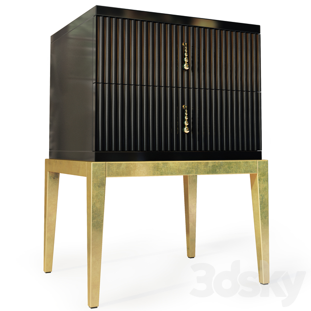 Chest / TV stand and Sidney bedside table. Nightstand, tv stand by Cavio Casa