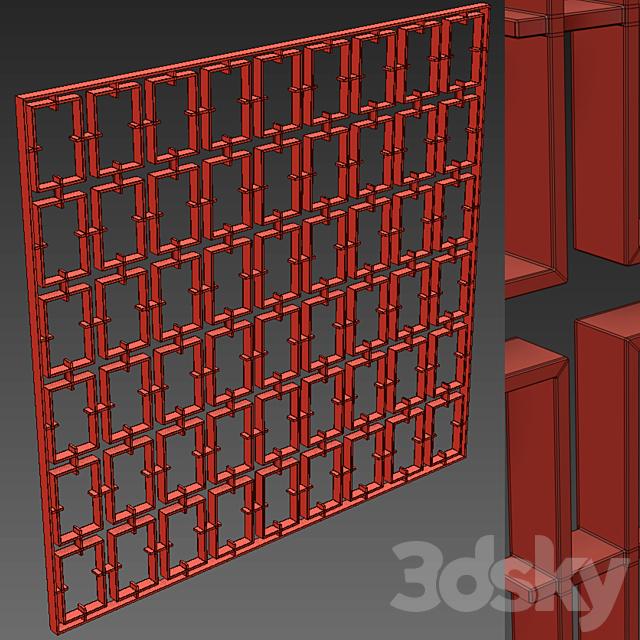 Decorative partition 39