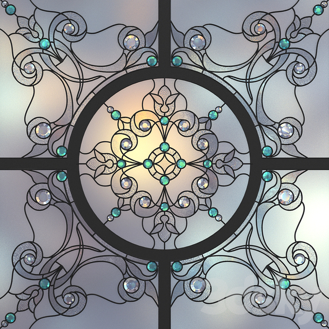 Model Name: Stained Glass