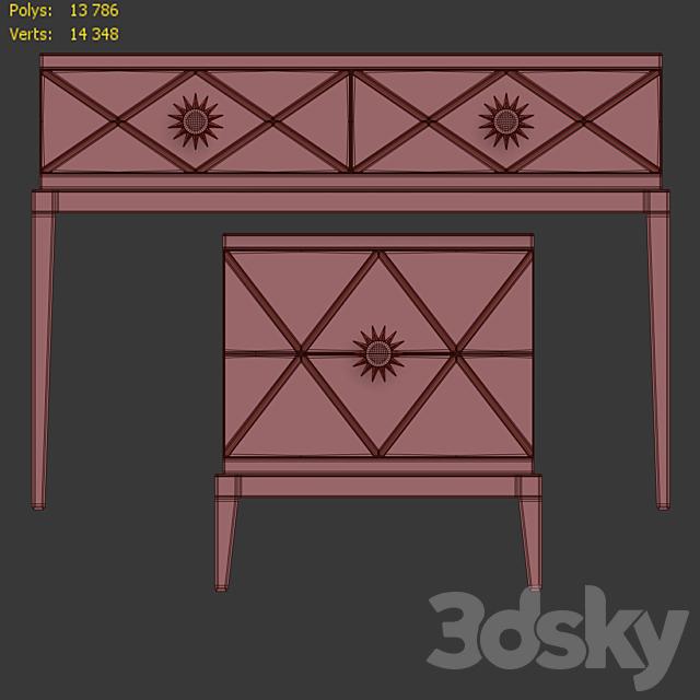 Chest / console and nightstand Gatsby. Dresser, nightstand by Cavio Casa