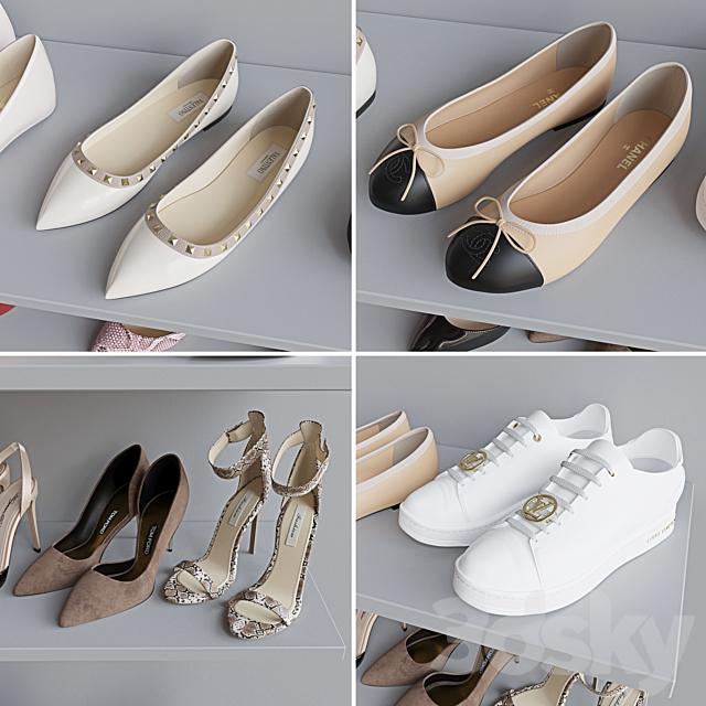 Set of women's shoes 1