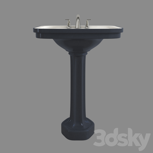 Bath pedestal 02