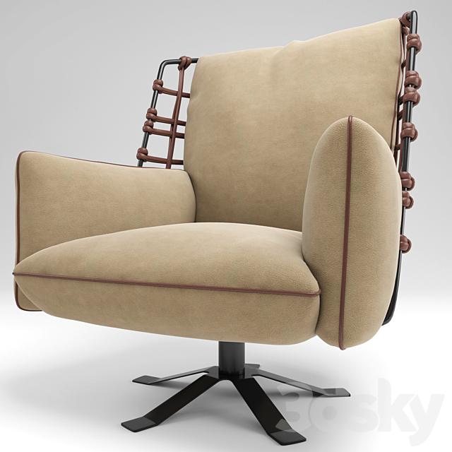 Cocoon armchair