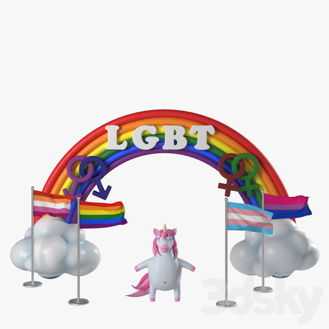 Symbols of LGBT communities