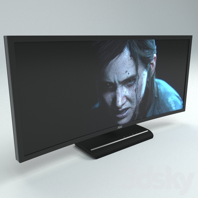 Aoc 3583 Fq Game Monitor