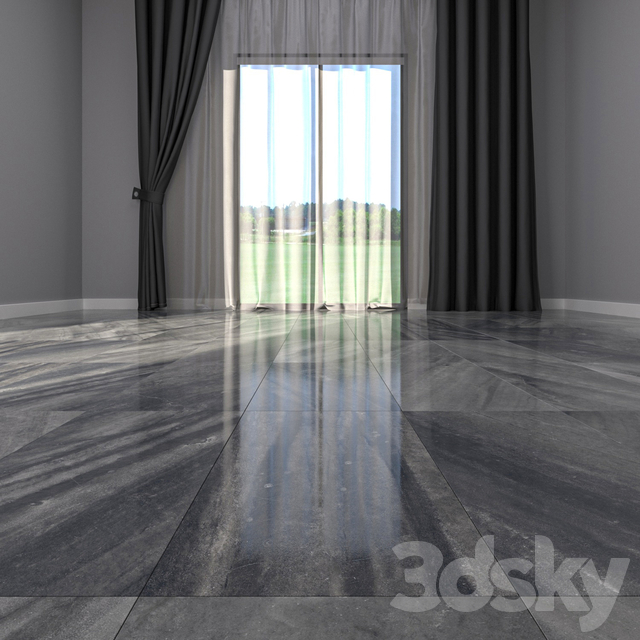 Marble Floor Evolution Carbon Set 3