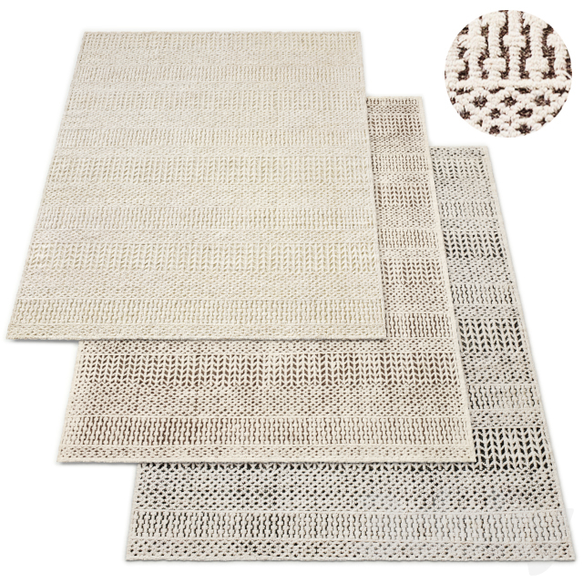Palomar Hand-Knotted Wool Rug RH Collection