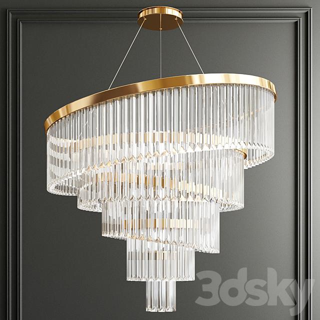Luxury crystal chandelier