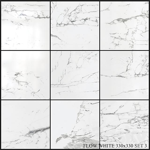 Yurtbay Seramik Flow White 330x330 Set 3