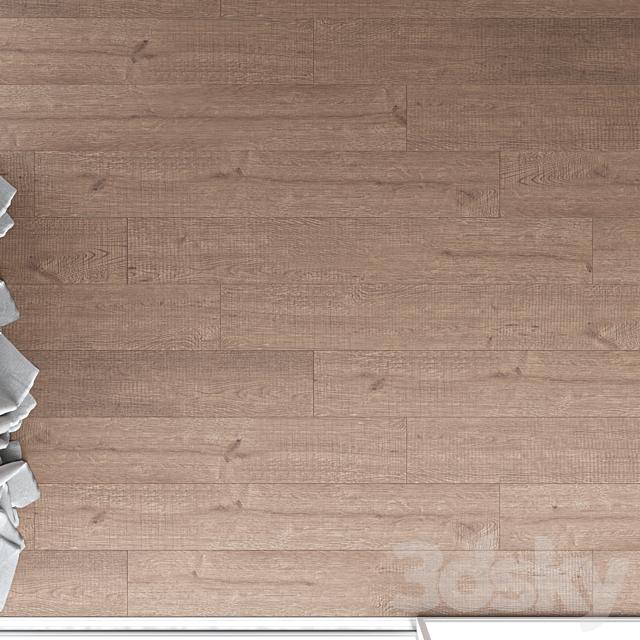 Wood Floor Oak (Black Walnut Wild Wood)